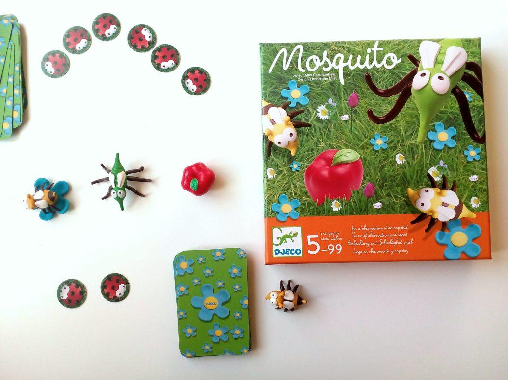 Postrehová hra Mosquito pre deti od 5 do 99 rokov